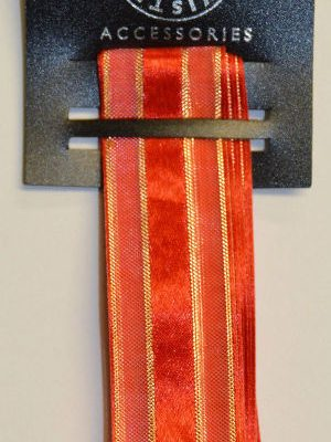 Red Luxury Band Ribbon
