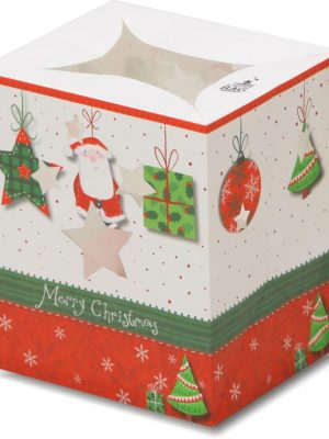 Santa Star Present Luminary Candle Bags - Christmas Edition