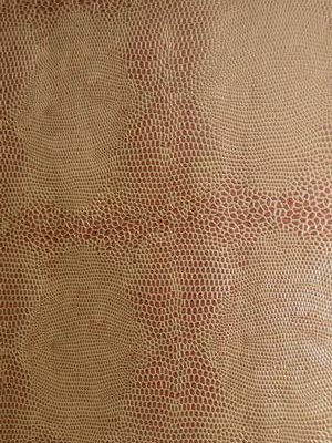 Scales Bronze Wrapping Paper