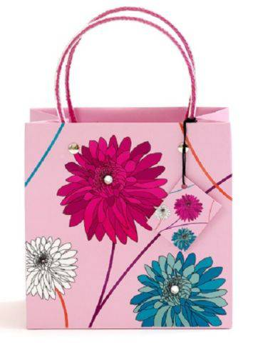 Small Dahlia Vibrant LuxuryHigh Quality  Bag