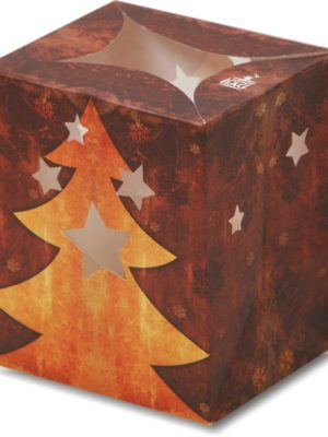 Star Tree Christmas Luminary Candle Bags - Christmas Edition