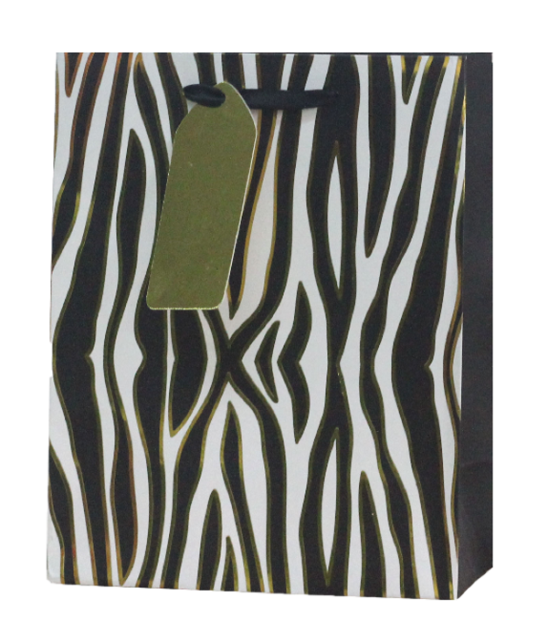 Zebra Print Gift Bags