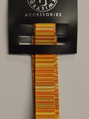 Stripy Yellow Ribbon