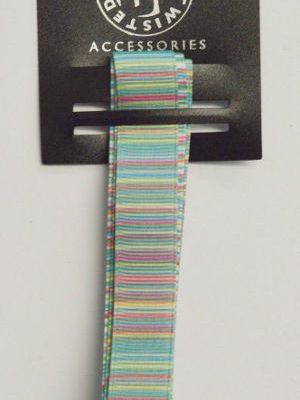 Stripy Green Ribbon