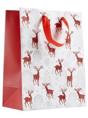 Christmas Bags White
