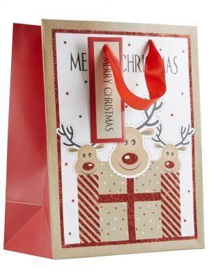 Christmas Bags 3 Reindeer