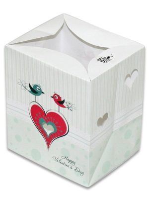 Two Love Birds Luminary Candle Bags - Love Edition