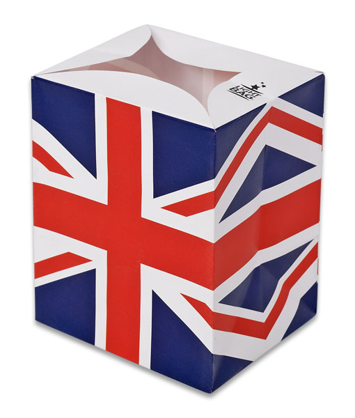 Flag of United Kingdom Luminary Candle Bags - Flags Edition