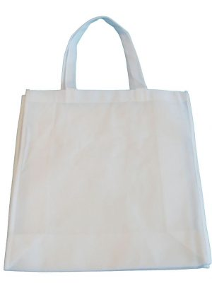 370mm White Non Woven PP Bags