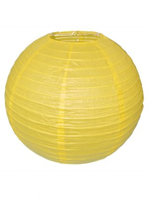 Yellow Chinese Lantern - 16 Inch