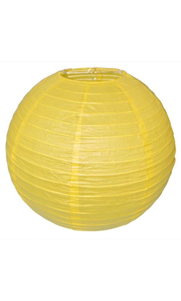 Yellow Chinese Lantern - 16 Inch