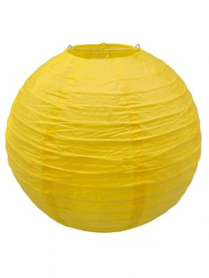 Yellow Chinese Lantern - 12 Inch