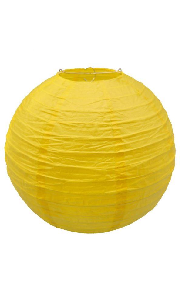 Yellow Chinese Lantern - 12 Inch