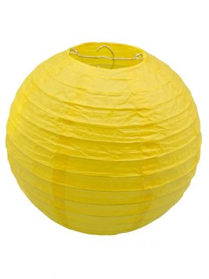 Yellow Chinese Lantern - 8 Inch