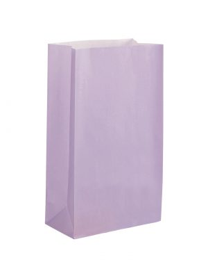 Lilac Paper Party Bag