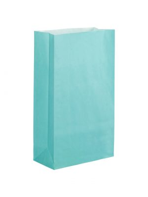 Light Blue Paper Party Bag